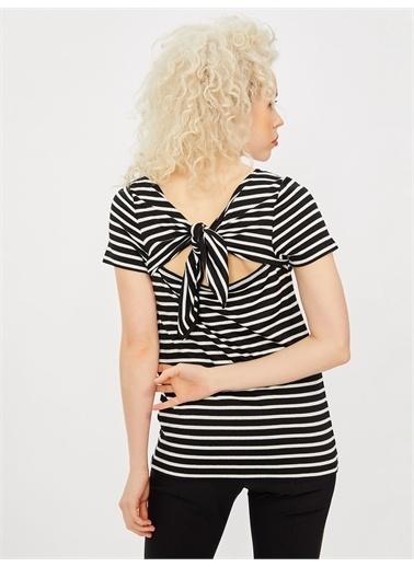 Vekem-Limited Edition Sırt Detaylı Simli Bluz Siyah